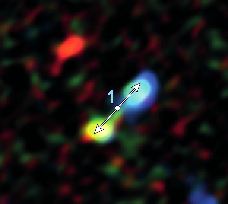 V blízkosti supermasivní černé díry v centru Mléčné dráhy byly objeveny nečekaně mladé protohvězdy